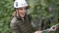 The Duchess of Cambridge during a visit to the RAF Air Cadets' Windermere Adventure Training Centre in Cumbria, marking the re-opening of the facility following a £2m refit. Picture date: Tuesday September 21, 2021.