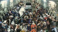 Kabul evacuations