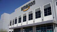 Amazon Fulfillment Center Pic: AP