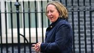 Newly promoted International Trade Secretary Anne-Marie Trevelyan arrivinng in Downing Street, London, after Prime Minister Boris Johnson reshuffled his Cabinet. Picture date: Thursday September 16, 2021.