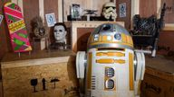 The collection of items from the popular movies are said to be worth £5.5m