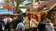 Shoppers at the Christmas market in Birmingham, after twelve people died when a lorry ploughed into a crowded Christmas market in Berlin in what police believe was a deliberate terrorist attack. PRESS ASSOCIATION Photo. Picture date: Tuesday December