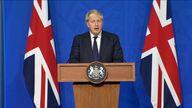 Boris Johnson press conference  14/9/21