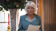 The Duchess of Cornwall, known as the Duchess of Rothesay when in Scotland, attends a Women in Journalism mentoring session and panel discussion at Dumfries House in Cumnock, Ayrshire