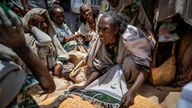 People are facing starvation in the Tigray region as food, medical supplies and fuel are blocked by the de facto government