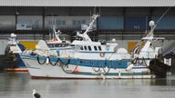 Just 12 out of 47 licences for small French boats were approved for use in UK waters. File pic