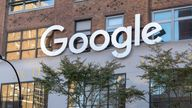 SEPTEMBER 2nd 2021: The U.S. Department of Justice is preparing to sue Google over its advertising technology business practices citing antitrust violations. - File Photo by: zz/John Nacion/STAR MAX/IPx 2020 10/14/20 Google offices in Chelsea, Midtown Manhattan, New York City on October 14, 2020 during the worldwide coronavirus pandemic. (NYC)