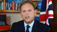 Grant Shapps not keen to say Brexit has anything to do with HGV driver shortage