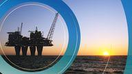 Offshore drilling platform. Pic: iStock