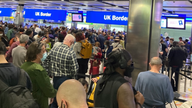 Heathrow said it was experiencing 'unacceptable' queues and blamed Border Force's e-gates