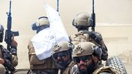 Taliban special forces have been seen wearing sophisticated tactical gear.