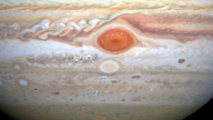 Winds in Jupiter's Great Red Spot are accelerating