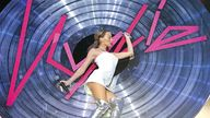 Kylie Minogue performing Can't Get You Out of My Head at the Brit Awards in February 2002. Pic: JM Enternational/Shutterstock  20 Feb 2002