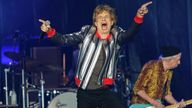 MissouriThe Rolling Stones kick off their U.S. tour, a month after the death of drummer Charlie Watts, in St. Louis