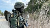 The Rwandan Defence Force has had a dramatic impact on the ground