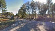 A Google Streetview image of Salkehatchie Road, on which the shooting of Alex Murdaugh is said to have taken place