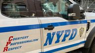 Police say two men fled the scene. Pic: AP