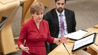"""Nicola Sturgeon says She said questions over Scotland's future """"cannot be avoided, nor postponed until the die is already cast"""""""