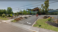 The employee at Mabel Elementary School in the suburbs of Portland, Oregon, has been suspended. Pic: Google Maps