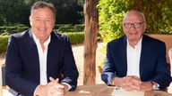 Piers Morgan is joining Rupert Murdoch's new news channel. Pic: News Corp