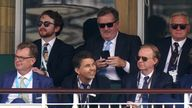 Piers Morgan pictured with ITV's director of television Kevin Lygo (front row right)