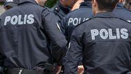 Police in Turkey. File pic