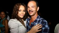 Rihanna and her father Ronald in 2006. Pic: David Crichlow/Shutterstock