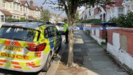 Emergency services at the scene in Leyborne Avenue in Ealing, London, as a murder probe has been launched after a five-year-old girl died at a home in the area. Picture date: Wednesday September 15, 2021.