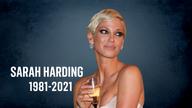 Sarah Harding. Pic: AP