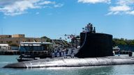Australia has struck a deal to buy UK and US submarine technology, like this Virginia-class fast-attack submarine in Joint Base Pearl Harbor-Hickam. File pic by AP