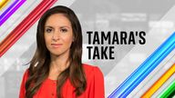 Political Correspondent Tamara Cohen gives her take on the latest news from Westminster