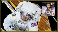Tim Peake has relived his spacewalk in a new Sky News podcast