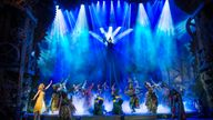 Wicked has been defying gravity for 15 years in London. Pic: Matt Crocket