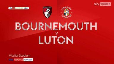 Bournemouth 2-1 Luton