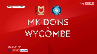 MK Dons 1-0 Wycombe