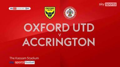 Oxford 5-1 Accrington