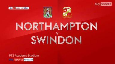 Northampton 1-1 Swindon
