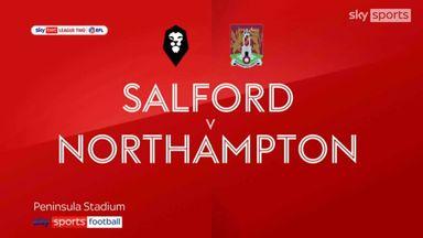 Salford 2-2 Northampton
