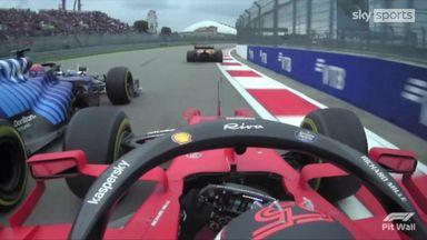 SkyPad: How Sainz took the lead at the start