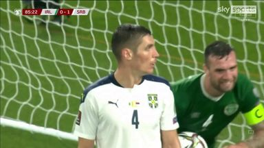 Calamitous Serbia own goal saves Irish