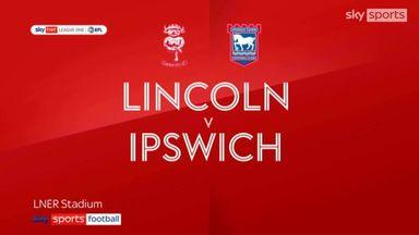 Lincoln 0-1 Ipswich