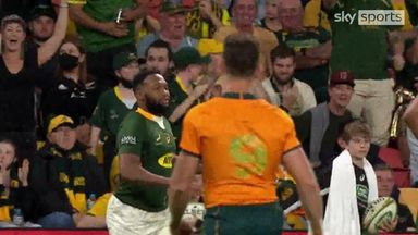 Lukhanyo try gives Springboks the lead