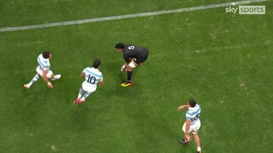 Relentless attack from the All Blacks