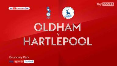 Oldham 0-0 Hartlepool