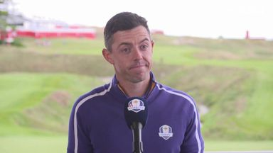 Rory: Ryder Cup atmosphere brings best out of us
