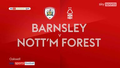 Barnsley 1-3 Nottingham Forest