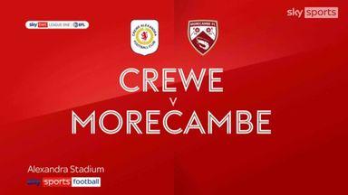 Crewe 1-3 Morecambe