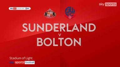 Sunderland 1-0 Bolton