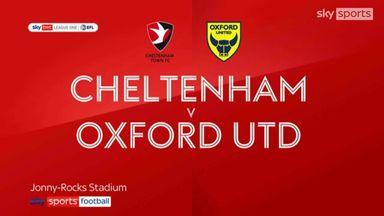 Cheltenham 1-0 Oxford