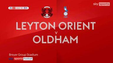 Leyton Orient 4-0 Oldham
